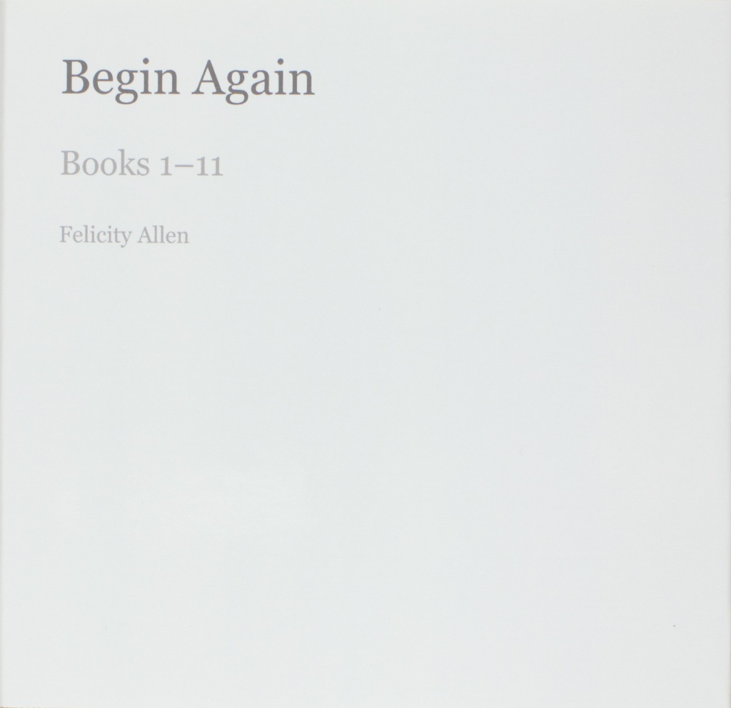 Begin Again Nos 1–21 (limited Edition Of 10; 3 Remaining)