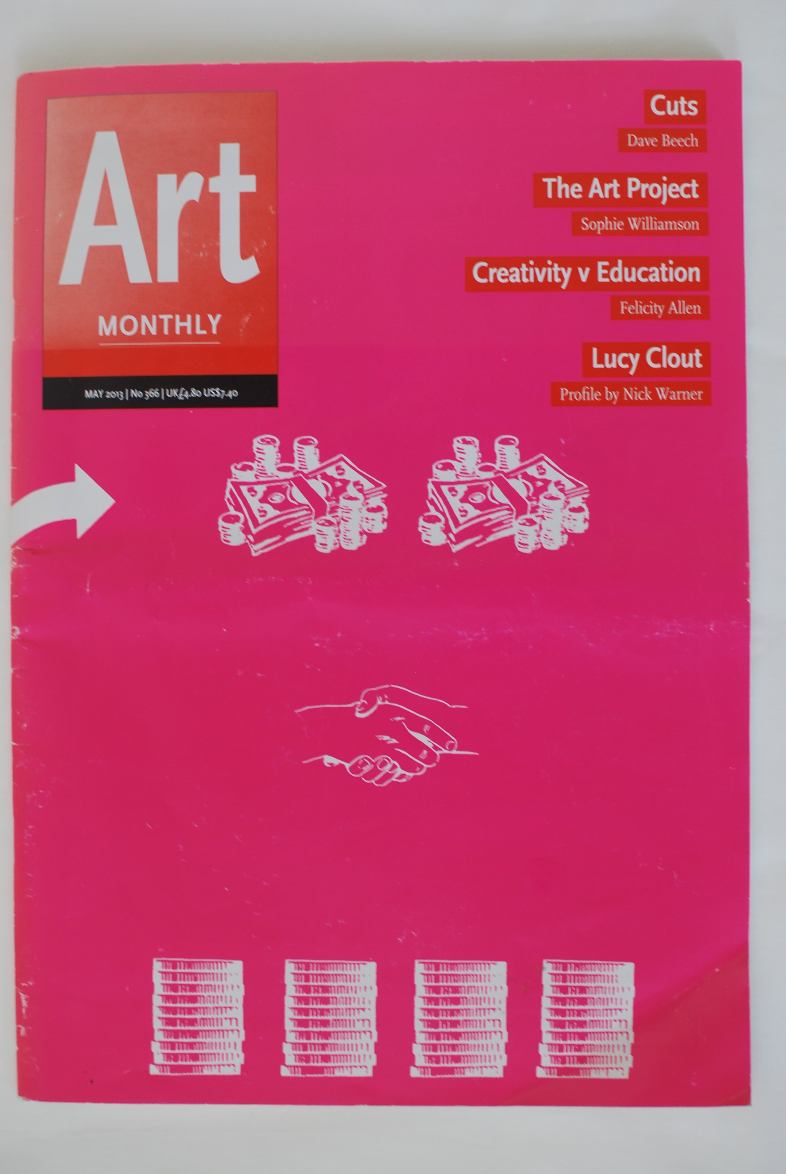 Creativity Vs Education: Invasive Assessment And The Sketchbook, 2013, Article In Art Monthly 366, May (not My Title)