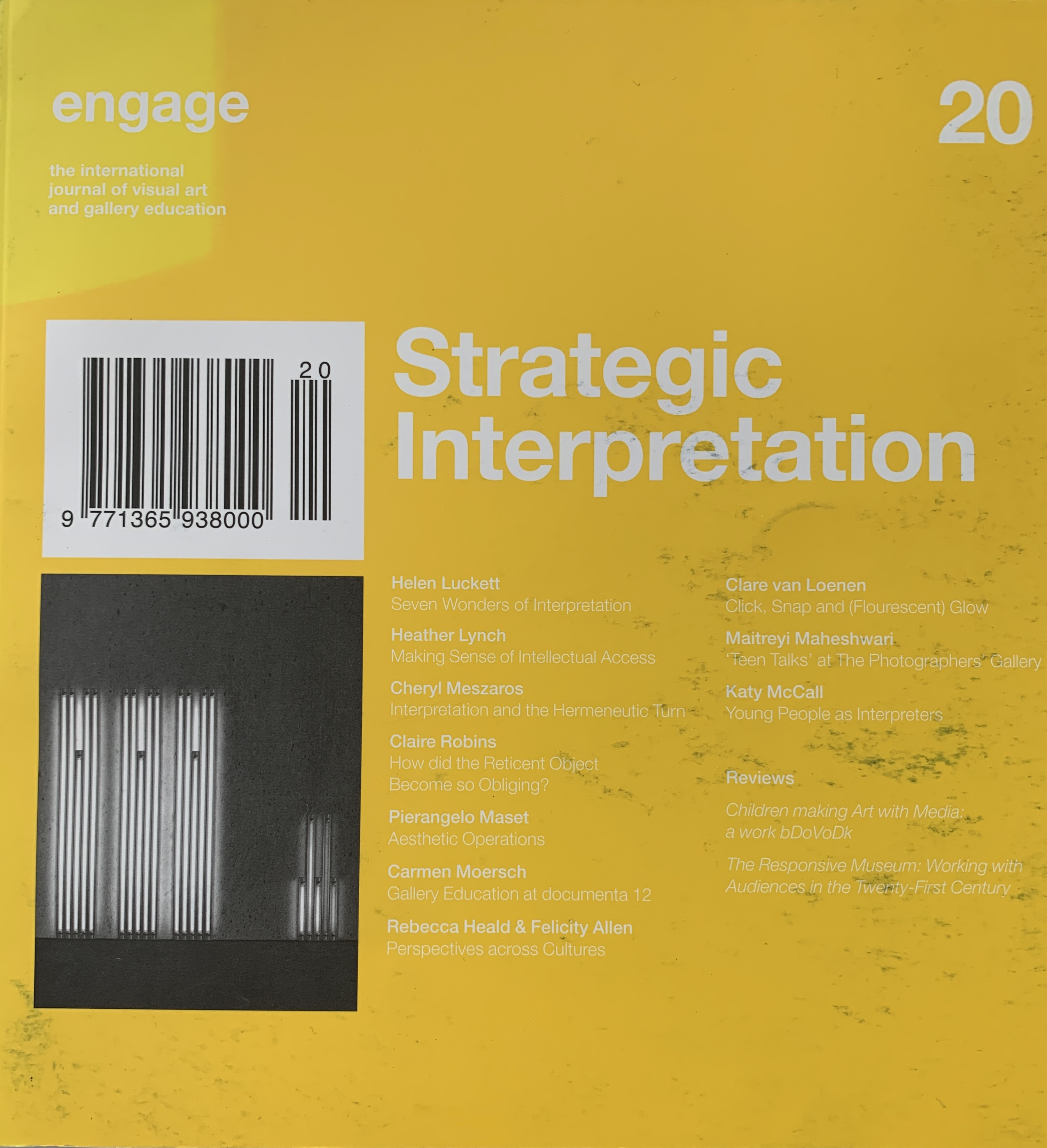 Perspectives Across Cultures With Rebecca Heald, 2007, Engage 20