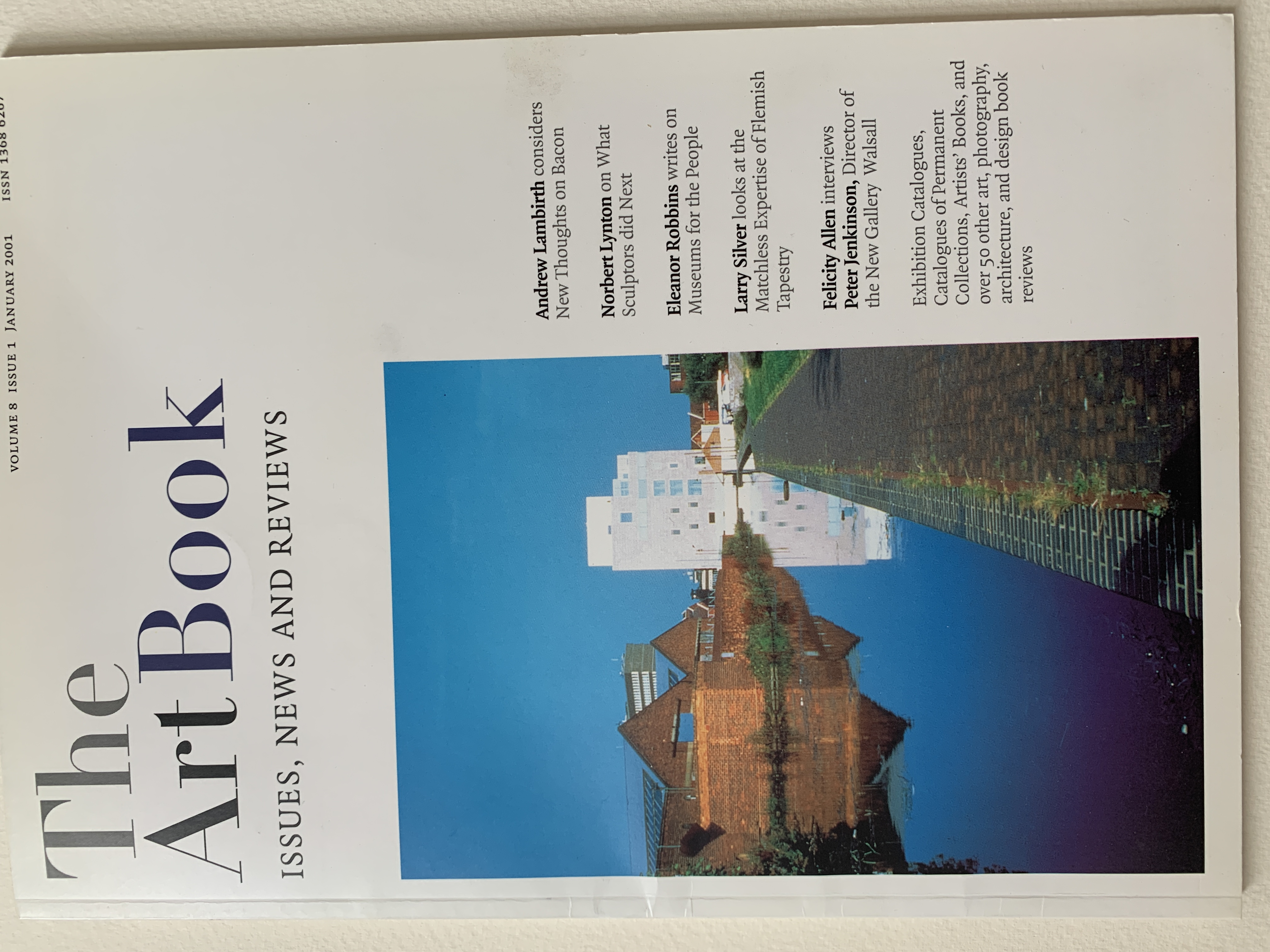 Interview With Peter Jenkinson At The New Art Gallery, Walsall, 2000, The Art Book (AAH)
