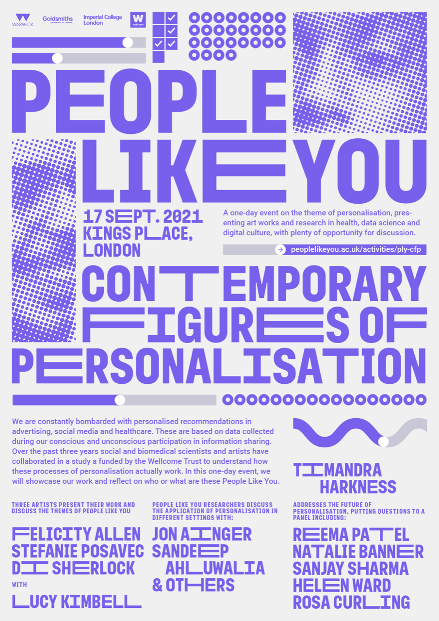 People Like You: Contemporary Figures Of Personalisation